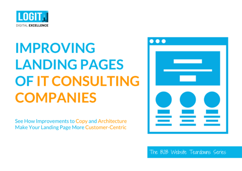 Improving Landing Pages of IT Consulting Companies - Cover