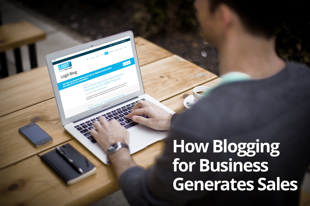 How Business Blogging Generates Sales